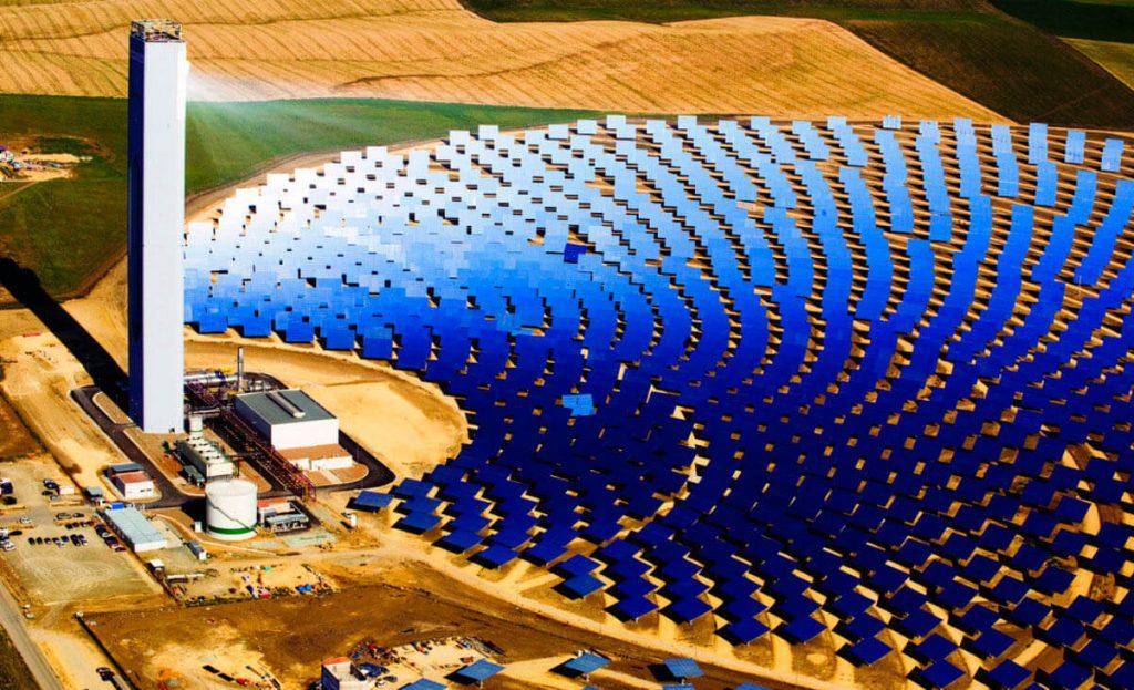 Uso da Energia Solar - Usina Solar