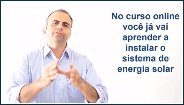 Vídeo curso instalador solar de alta performance