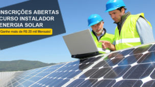 Novas turmas curso instalador solar de alta performance
