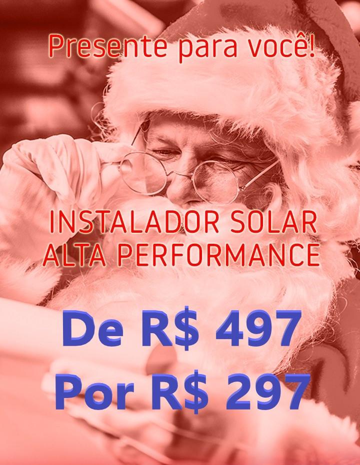 promoção curso energia solar
