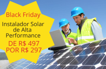 Black Friday Curso Energia Solar