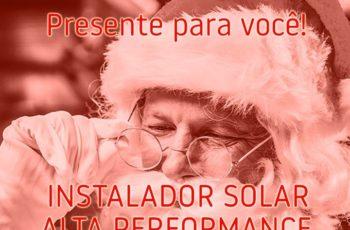 Promoção de Natal Curso de Energia Solar